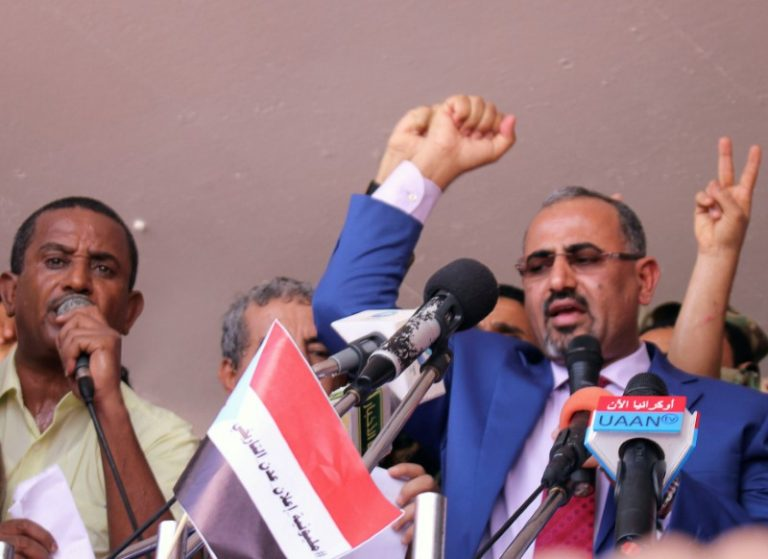 Southern Yemen leader sees independence referendum, parliament body