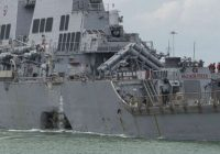 USS McCain's top officers fired after 'preventable' deadly collision