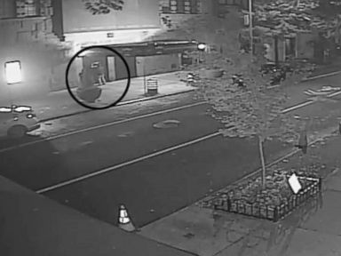 Vandals deface New York City synagogue with pink swastika