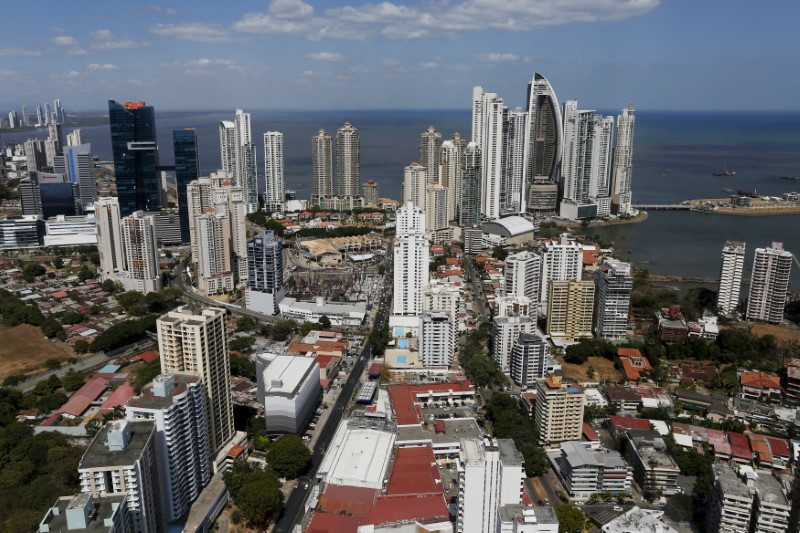 A general view of a high income neighborhood of Panama City