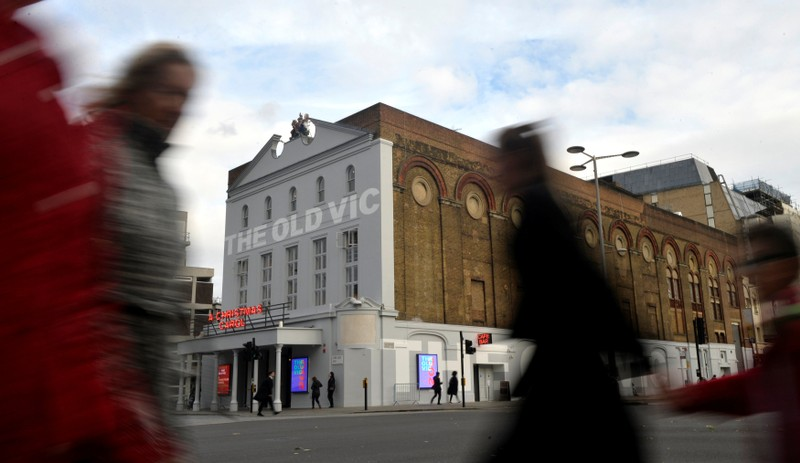 The Old Vic Theatre is seen in London