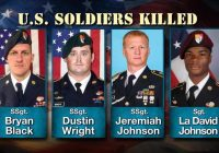 U.S. soldier in Niger may have been captured by Islamic militants
