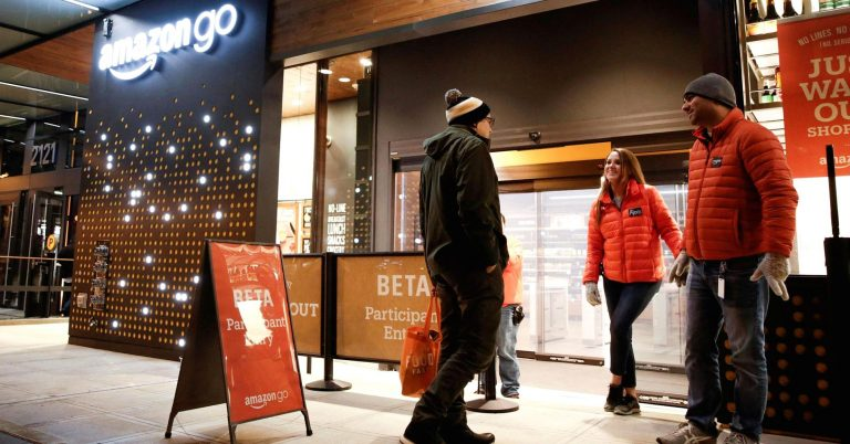 Here's what the inside of Amazon Go's automated grocery is like