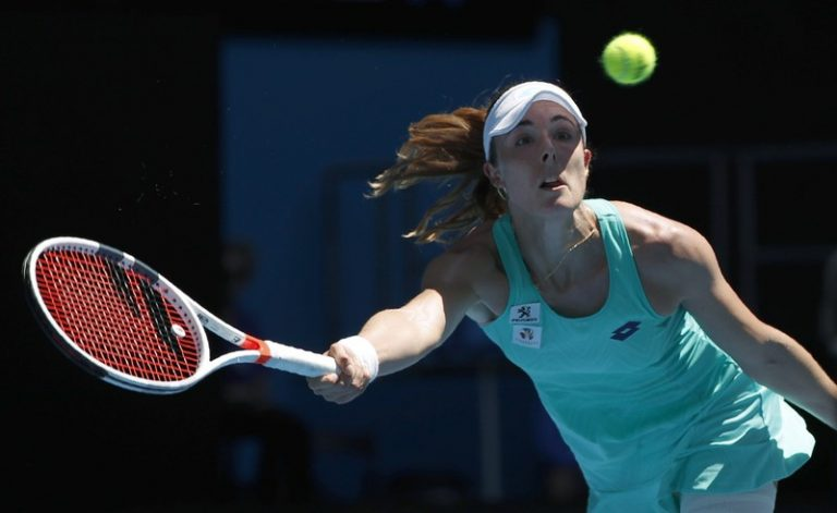Tennis-Cornet charged with anti-doping violation