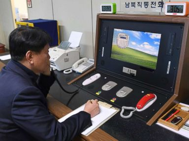 What North Korea said to South Korea when they spoke on the phone