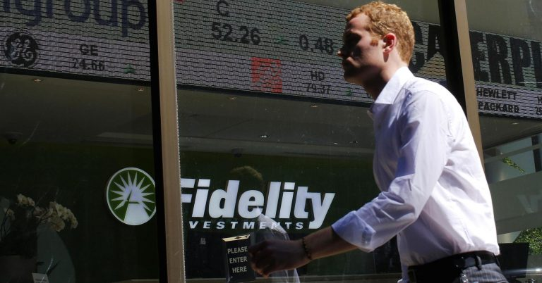 Fidelity says it saw no panic among its customers and more buying than selling during the plunge