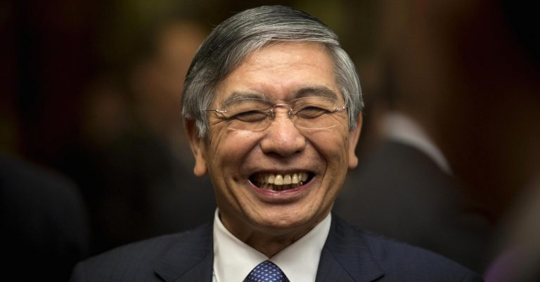 Japan's central bank governor says economic fundamentals are solid despite market rout