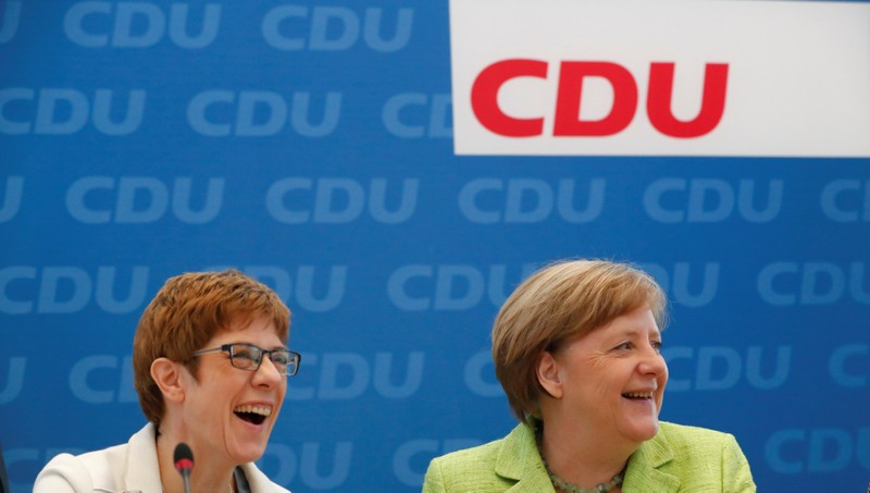 FILE PHOTO: Reactions after Saarland state elections in Berlin
