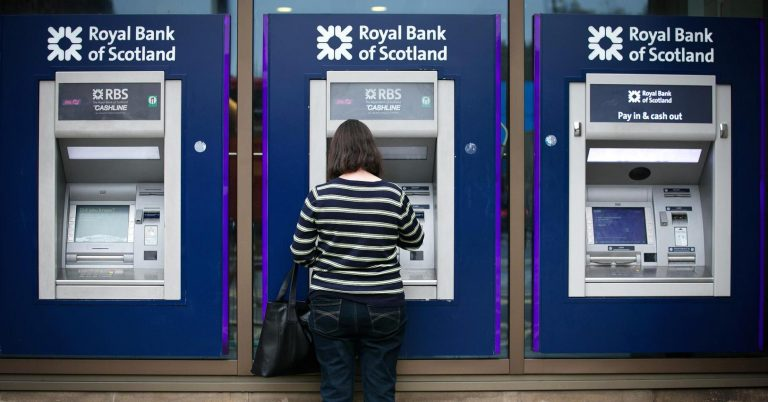 UK bank RBS reports first annual profit in a decade