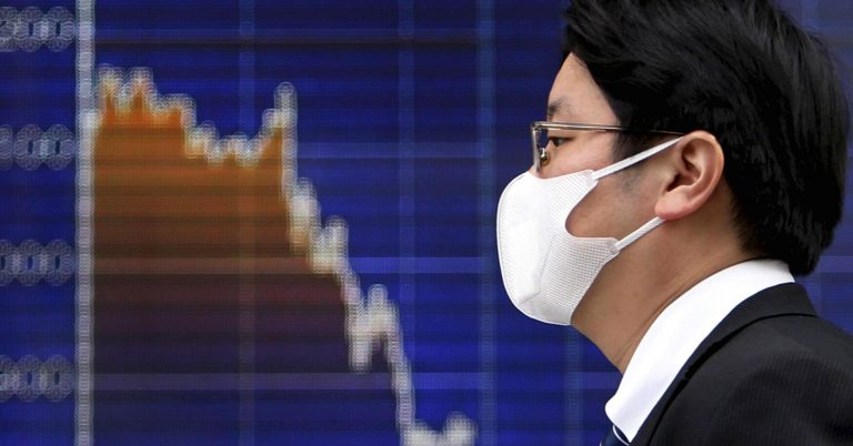 Asian shares slide after tech drags on Wall Street