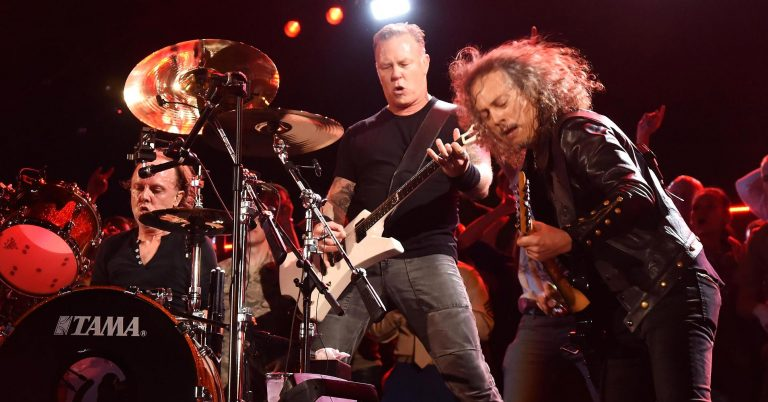 Heavy metal band Metallica is working on its own brand of whiskey