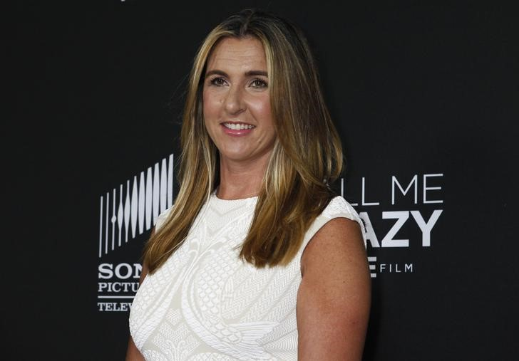 FILE PHOTO - Dubuc, president, Entertainment and Media of A+E Networks arrives at the premiere of the Lifetime cable channel film