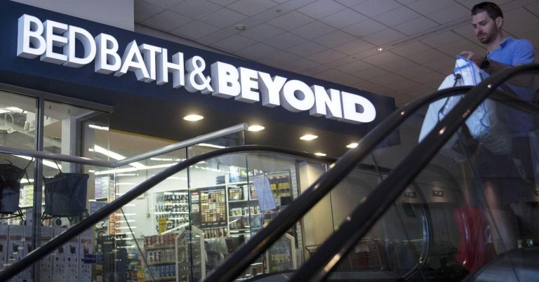 Bed Bath & Beyond needs to change its game plan or risk going down faster than expected: Analyst