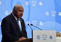 Fiji in fight for survival amid climate change, prime minister says