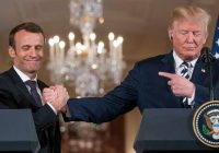 In address to Congress Macron defends climate accords, Iran deal