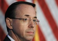Rod Rosenstein outlined scope for special counsel probe in August 2017