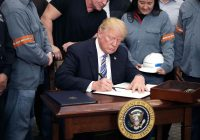 Trump administration is likely to extend steel and aluminum tariff exemptions beyond May 1, sources say