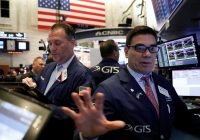 Wall Street sunk by corporate cost warnings, bond nerves