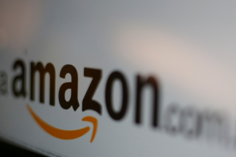 FILE PICTURE - Amazon logo is pictured in Mexico City