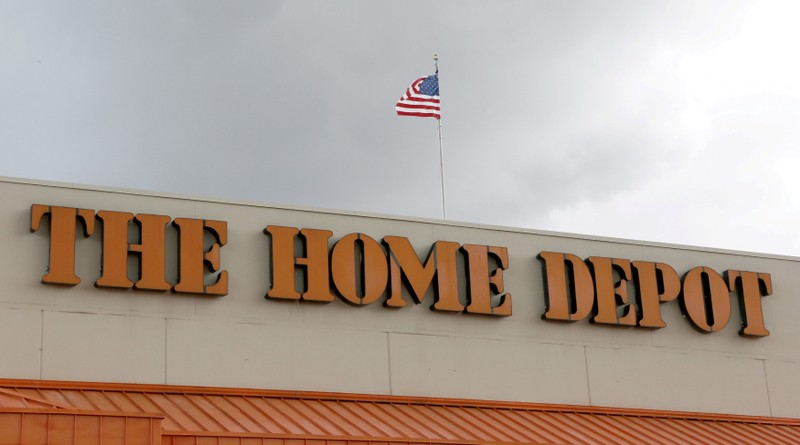 FILE PHOTO: A Home Depot store is shown in the Little Havana neighborhood in Miami