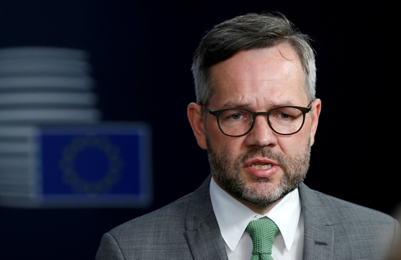 FILE PHOTO: German Minister of State for Europe Michael Roth attends a European Union foreign ministers meeting in Brussels