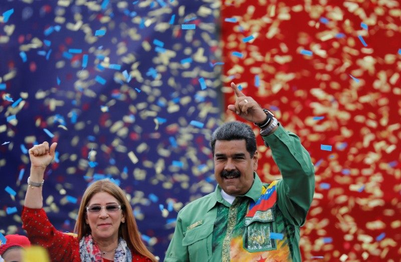 Closing campaign rally of Nicolas Maduro