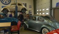 Inside the auto shop that only restores Volkswagen Beetles