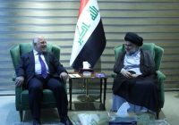 Iraqi PM Abadi and cleric Sadr announce political alliance