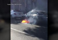 WATCH: Video of burning Tesla raises new concerns