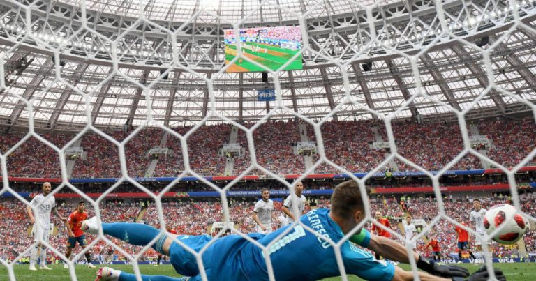 Russia shocks Spain to advance to World Cup quarterfinals