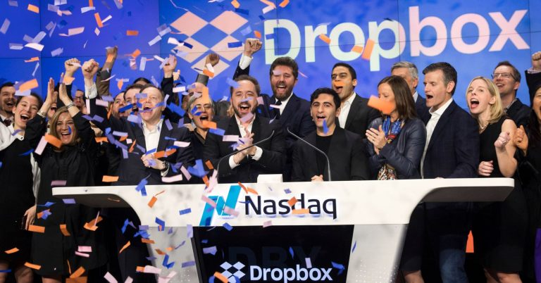 Dropbox has been on a wild ride, and one market watcher sees it surging nearly 40 percent