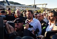 """Italian firm balks at bridge collapse backlash with """"causes"""" unclear"""