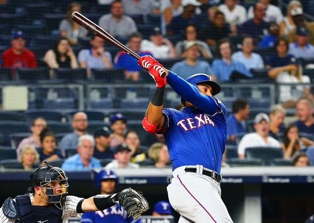MLB: Texas Rangers at New York Yankees