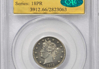 Rare nickel sells for $4.5 million at auction