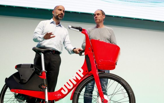 028402af4a3 Uber gears up for shift to bikes on short trips, CEO expects short ...