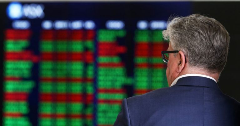 Australia market declines as tariffs between the US and China loom
