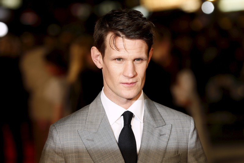 FILE PHOTO - Cast member Matt Smith poses at the European premiere of