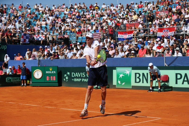 Davis Cup - World Group Semi-Final - Croatia v United States