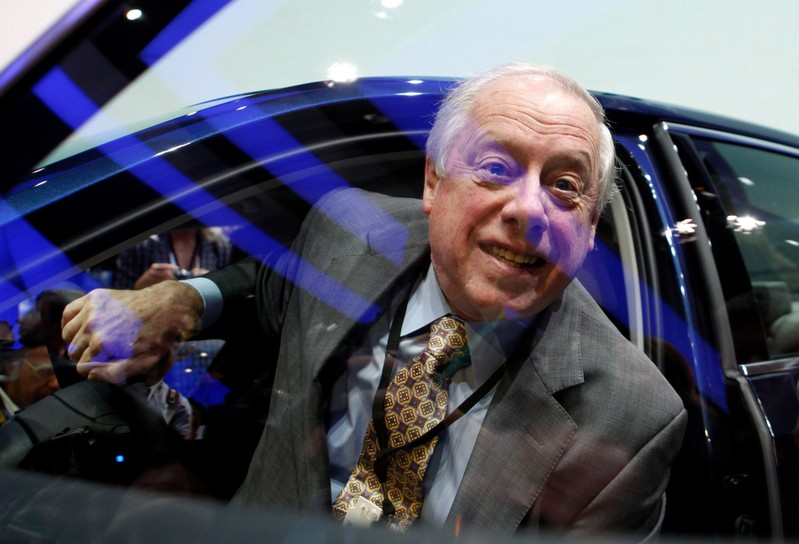 FILE PHOTO: Tennessee Governor Bredesen sits in the new Volkswagen Passat during the International Auto show in Detroit