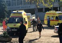 18 dead, 40 injured in bomb, shooting attack by student at college in Crimea
