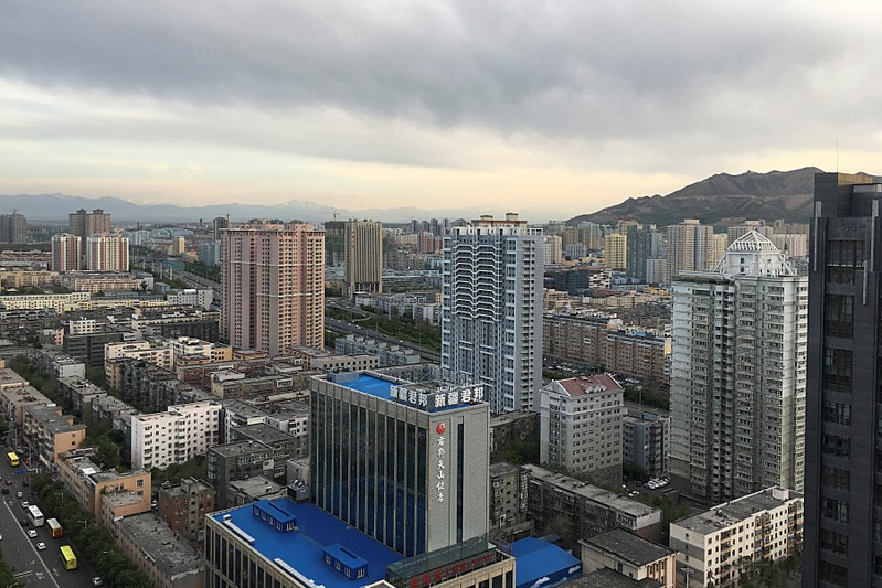 General view of Urumqi