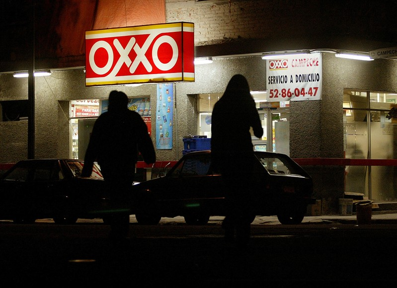 FILE PHOTO - AN OXXO CONVENIENCE STORE IN MEXICO.