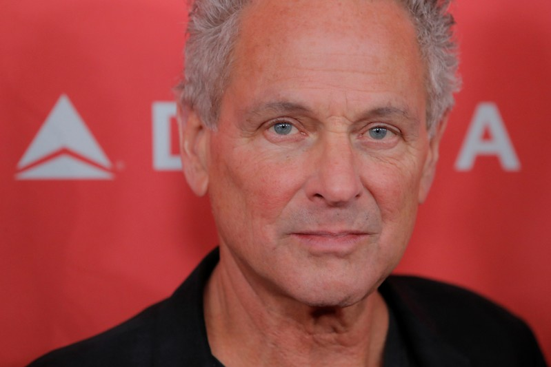 FILE PHOTO: Musician Lindsey Buckingham of Fleetwood Mac arrives to attend the 2018 MusiCares Person of the Year show honoring Fleetwood Mac at Radio City Music Hall in Manhattan, New York