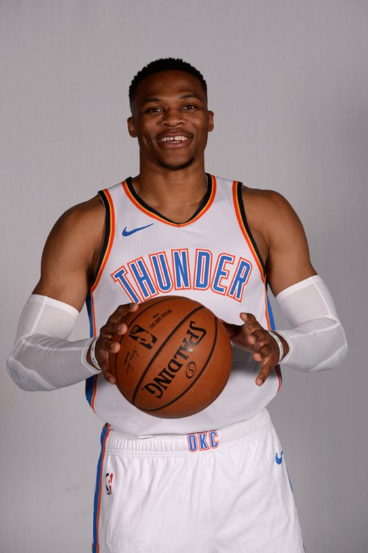 FILE PHOTO: NBA: Oklahoma City Thunder-Media Day