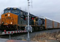 Railroad operator CSX's quarterly profit tops Wall Street target