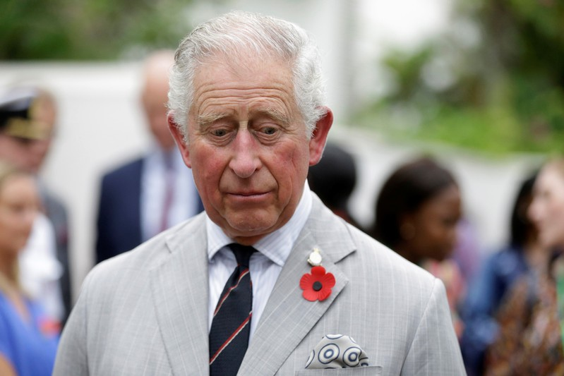 FILE PHOTO: Britain's Prince Charles visits the British Council festival in Lagos