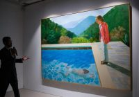 David Hockney painting sells for record $90M