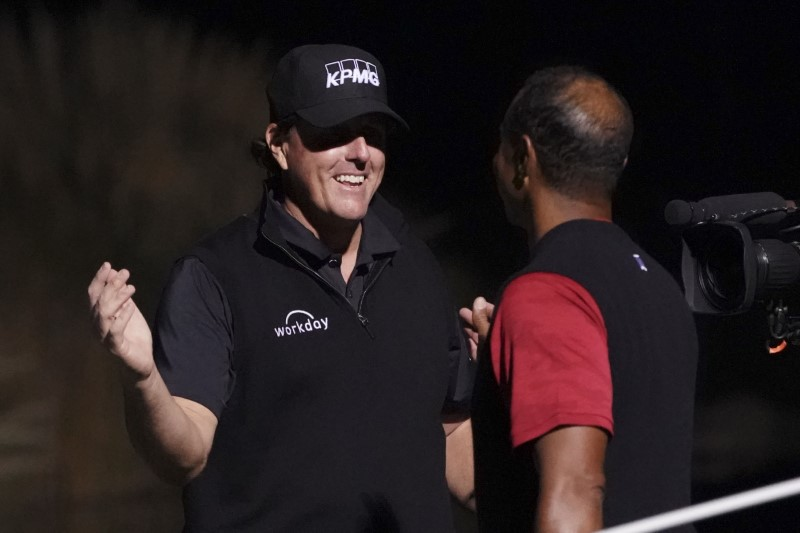 PGA: The Match: Tiger vs. Phil