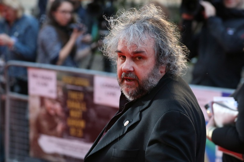 FILE PHOTO: New Zealand film maker Peter Jackson arrives for the world premiere of his film