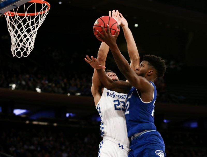 NCAA Basketball: Kentucky at Seton Hall
